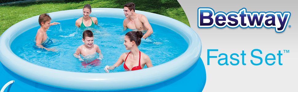 Fast Set Inflatable Outdoor Pools Header Banner