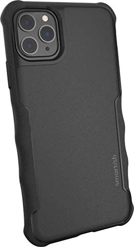 Smartish iPhone 11 Pro Max Armor Case – Gripzilla [Rugged + Protective] Slim Tough Grip Cover – Black Tie Affair