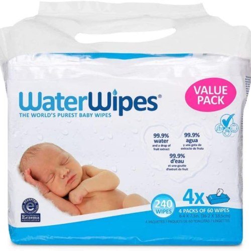 Water wipes for baby