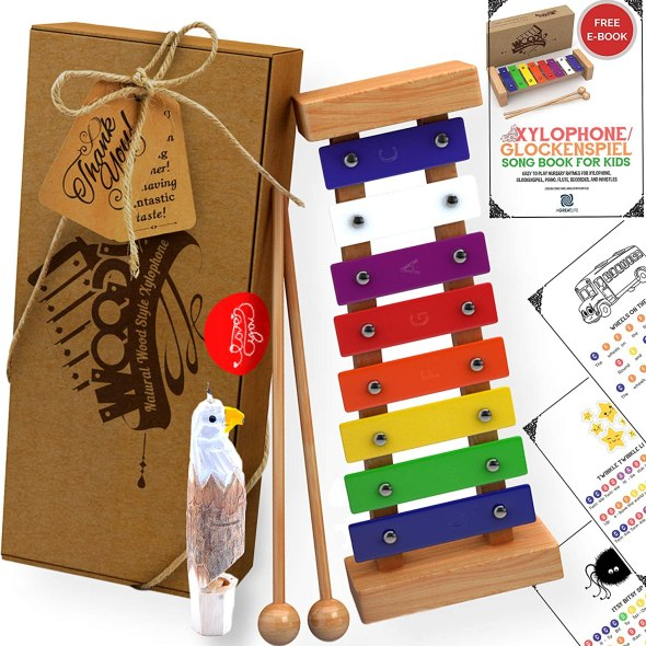 Wooden Xylophone for Kids