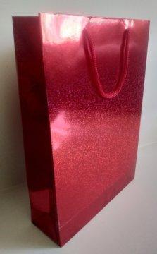 kırmızı karton çanta