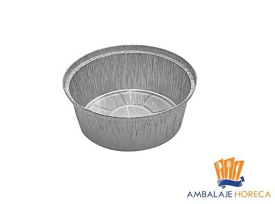 Caserola din aluminiu rotunda 802, 50buc/set