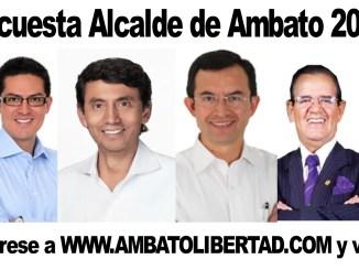 ENCUESTA PARA ALCALDE DE AMBATO