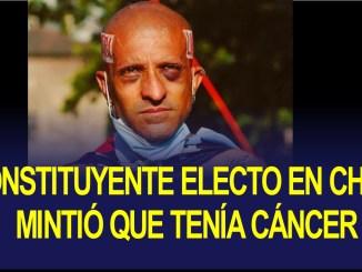 Rodrigo Rojas Vade mintió que tenía cáncer