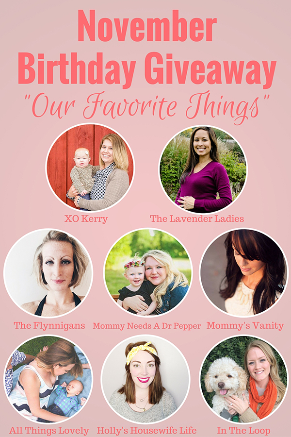 birthday giveaway graphic