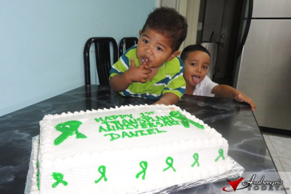 Baby Daniel Celebrates A Year Of Recovery | Ambergris ...