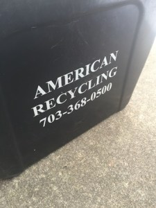 New recycling bins from AMS.