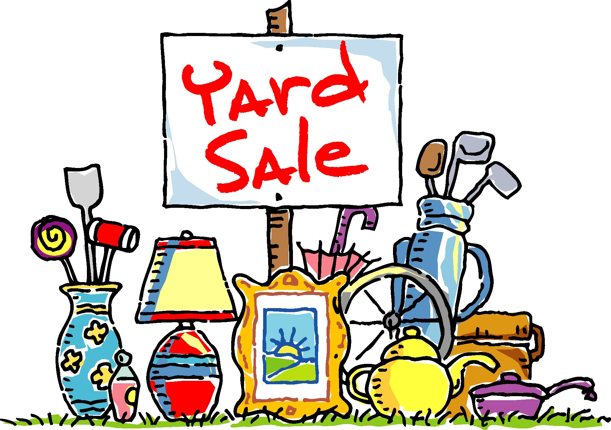 Rain Date Set for Yard Sale