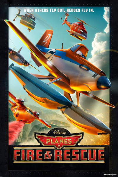 """Planes: Fire & Rescue"" at Amerleigh's Movie Night August 4th"