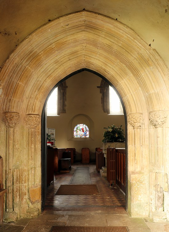 St Michael's main doorway