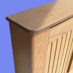 Radiator Covers Oak Veneer Finished In Clear Satin Lacquer Choice Of Sizes Amber Radiator Covers