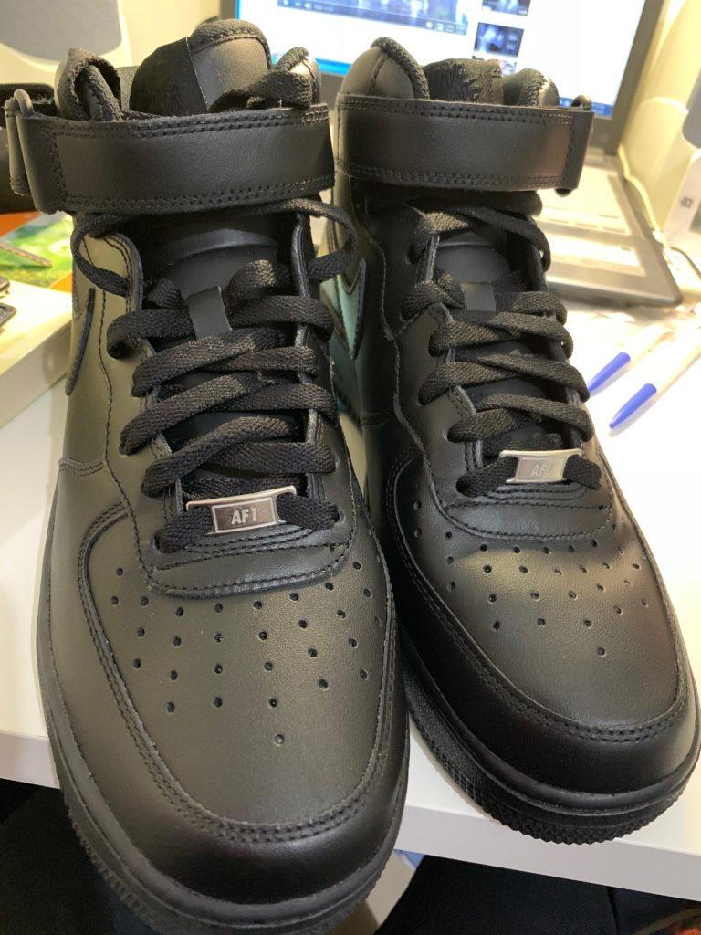 AIR FORCE 1經典黑鞋