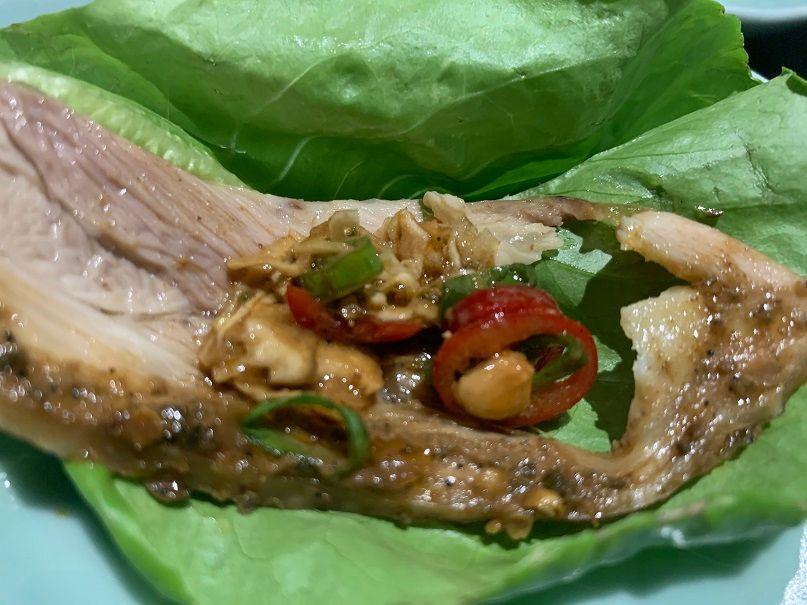 生菜包口水雞