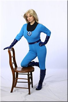 F4 Sue Storm Amber Love cosplay