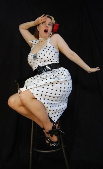 2010 Fife pinup white dress 0251