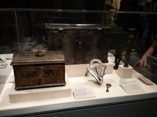 INTRICATE LOCK BOXES AND KEYS