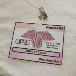 dexcon badge
