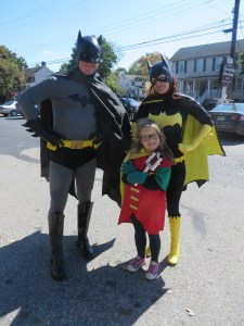 Superhero Weekend cosplayers