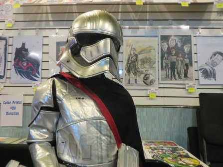 PHOTOGRAPHER'S DAUGHTERS AS CAPTAIN PHASMA