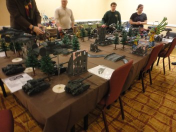A large scale war game