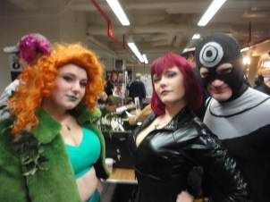 Black Widow, Bullseye, and Ivy