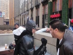 Batman vs Superman at MSG