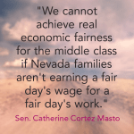 catherine cortez masto fair wages quote