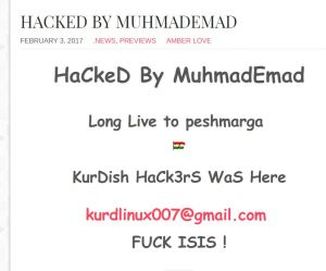 hacker message