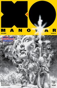 X-O Manowar new number 1 cover