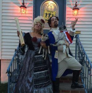 Halloween Hamilton costumes
