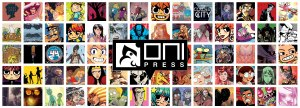 Oni Press banner logo