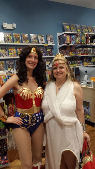 Wonder Woman and Hippolyta