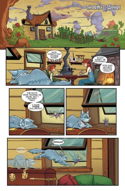 Hero Cats of Skyworld 6 TPB Page 5