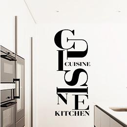 stickers cuisine adhesif deco