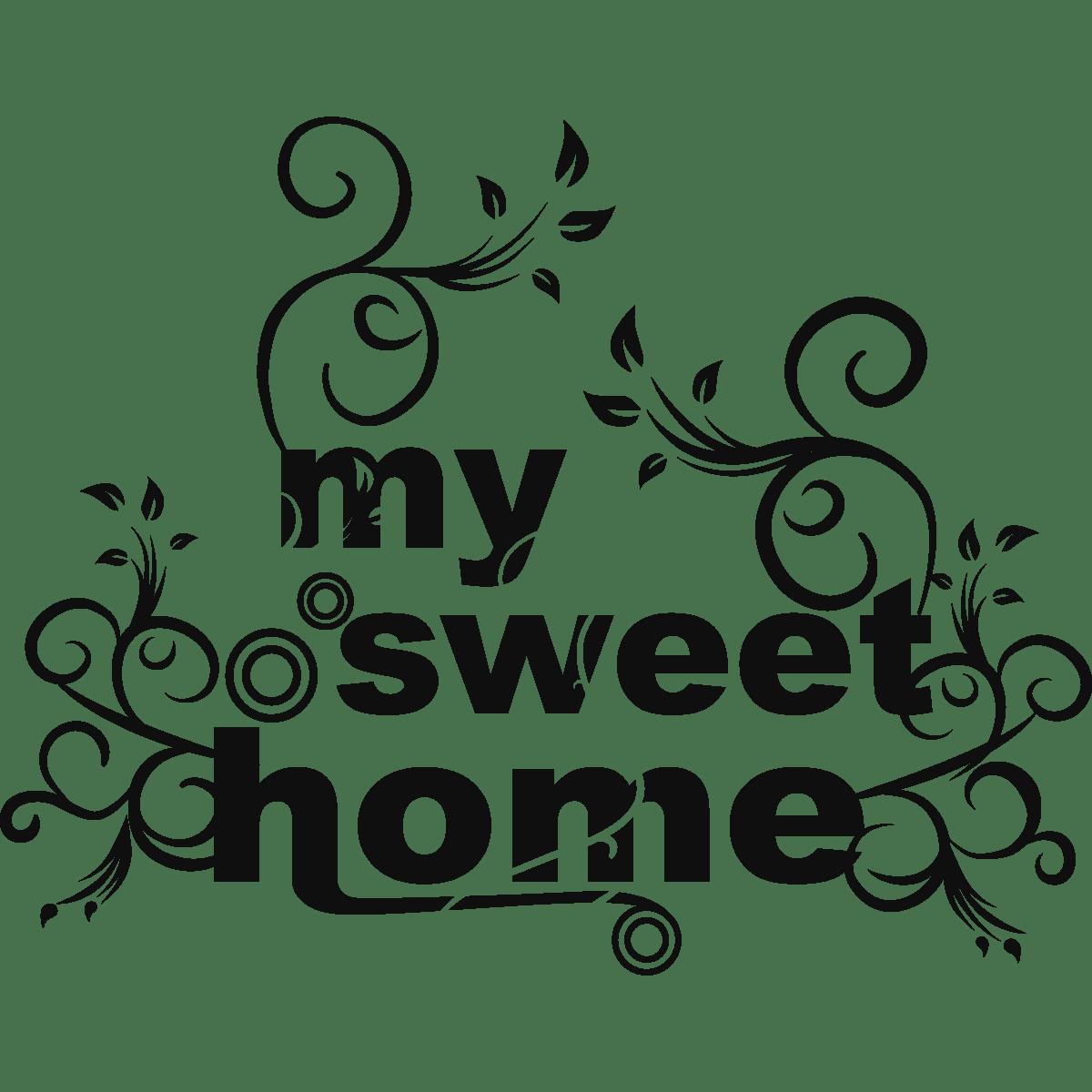 wandtattoo my sweet home