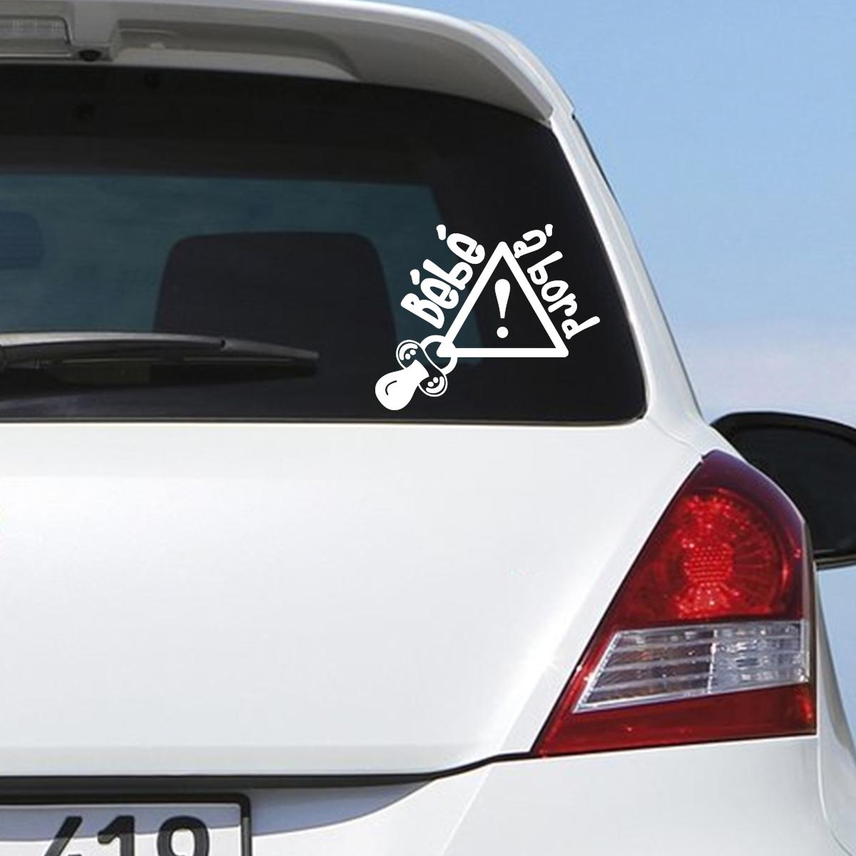 Sticker Pour Voiture Attention B 233 B 233 224 Bord Stickers Auto