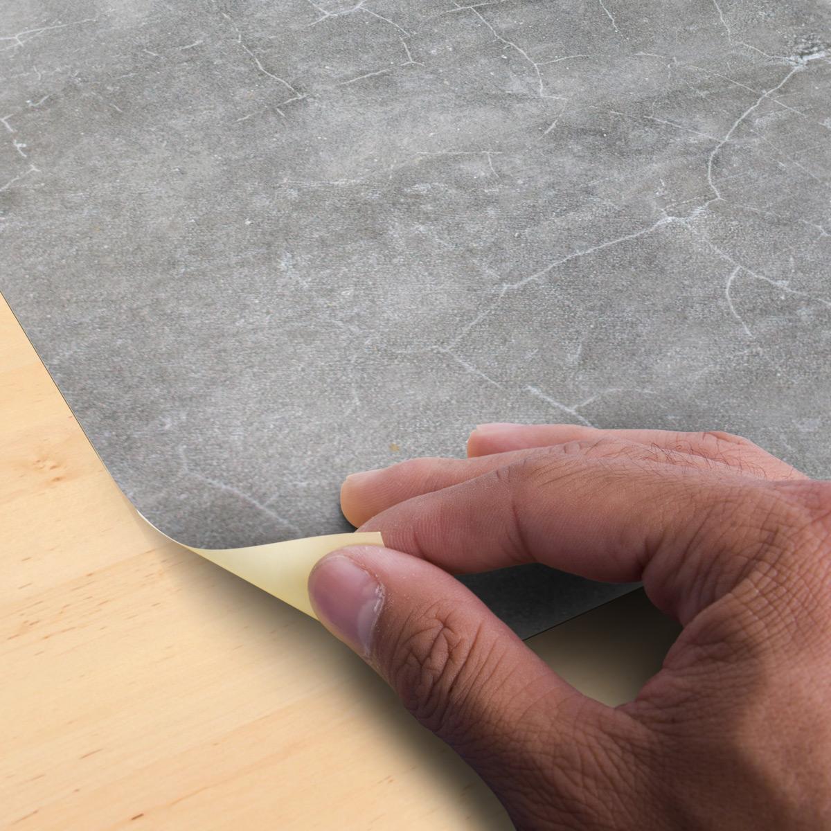 Wandtattoo Zementfliesen Anti Rutsch Platte Gewachster Beton Bad Badezimmer Ambiance Sticker