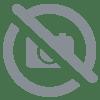 sticker branche d arbre fleuri en rouge