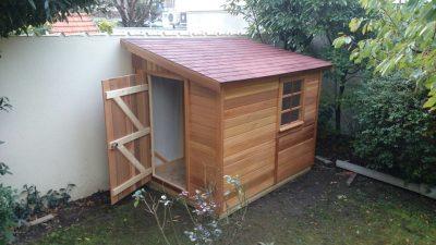 abri de jardin en bois 1 pente de 5m2 a