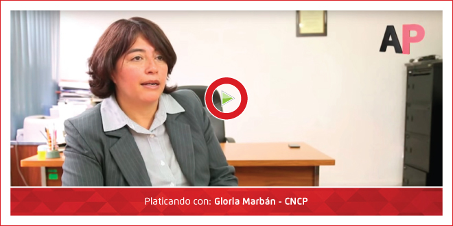 Photo of Ambiente Plástico con Gloria Marbán – CNCP