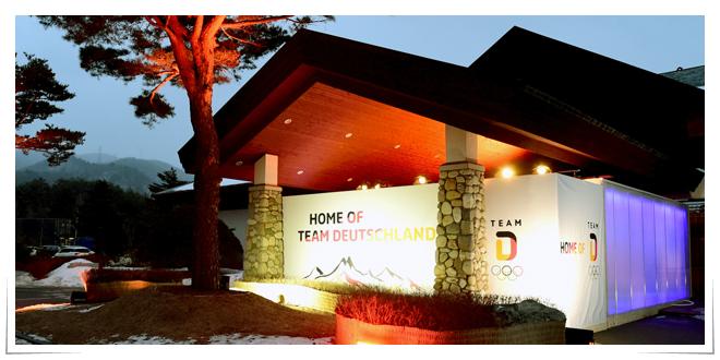 Photo of Plexiglas mantiene la casa alemana caliente en los Juegos Olímpicos