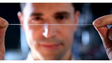 Photo of Fibra elástica soporta hasta 500% la deformación