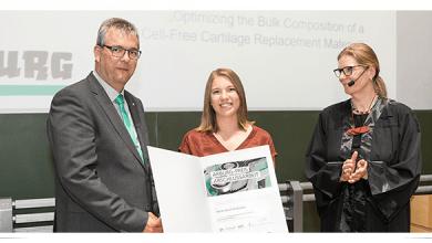 Photo of Graduados de la Universidad Técnica de Munich reciben premios Arburg