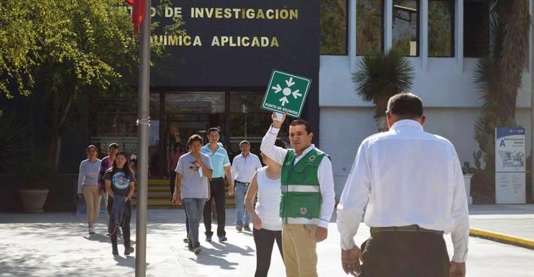Photo of Participaron empleados del CIQA en MacroSimulacro nacional simultáneo 2019