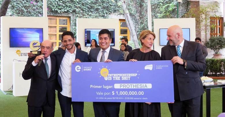 Photo of Gana Prothesia la tercera edición del Premio everis México