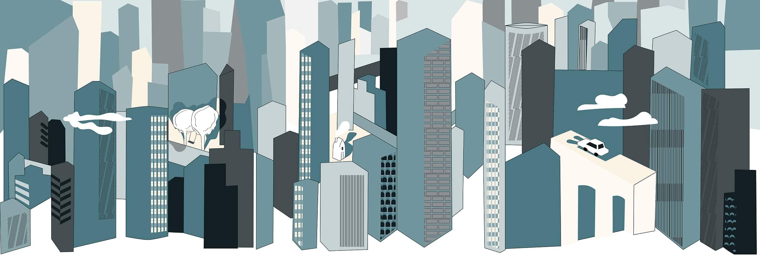 Design by ludovica + roberto palomba. Metropolis Breeze Design Wallpaper Ambientha
