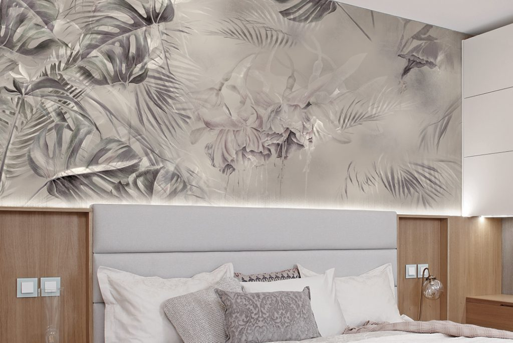 La carta da parati per camera da letto è la soluzione perfetta per rendere le vostre camere delle stanze uniche, eleganti e. Carta Da Parati Di Design Per La Camera Da Letto Ambientha
