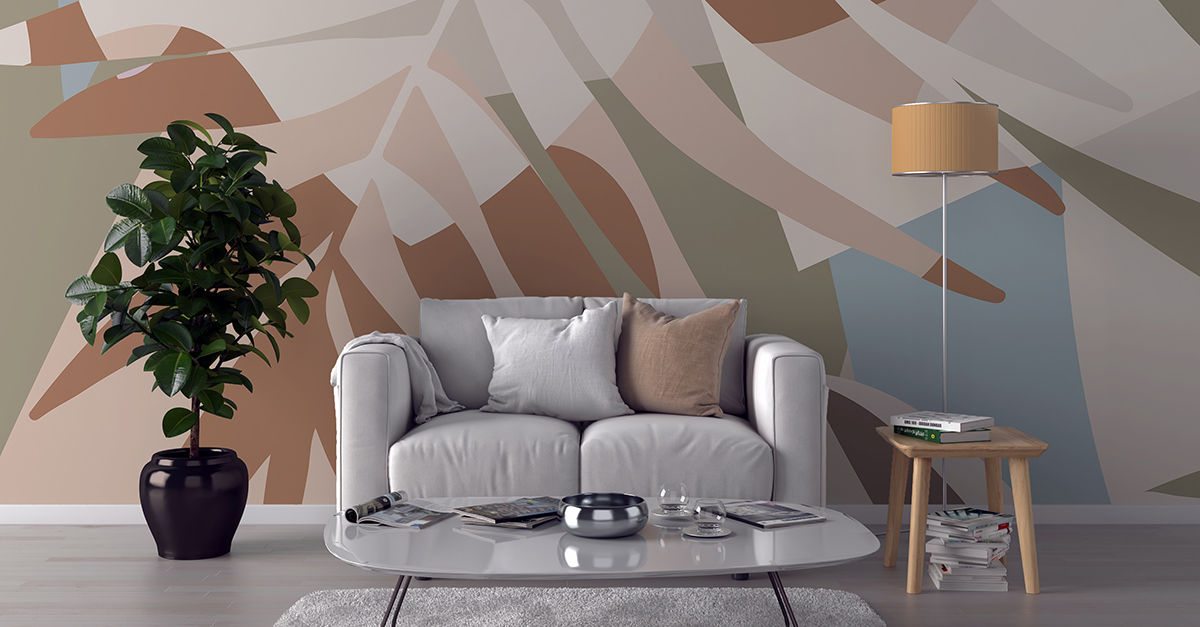 Texture carta da parati ambientha. 5 Style Ideas For Your Living Room Wallpaper Ambientha