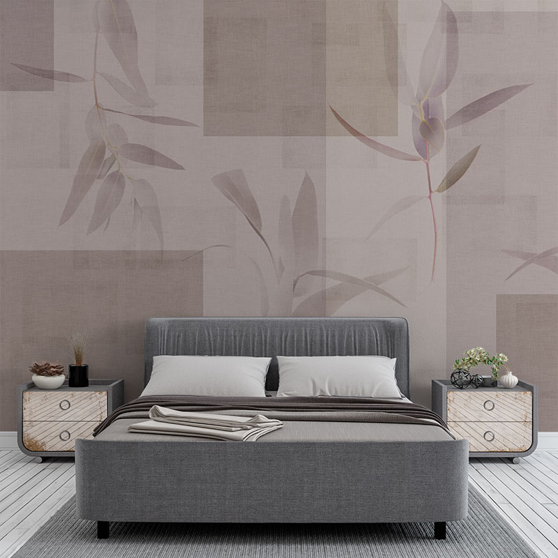 Per non appesantire la stanza si può optare per un disegno panoramico o una fantasia ampia, ma se i pattern più fitti sono la vostra passione,. Arborea Isabelle Carta Da Parati Per L Interior Design Ambientha