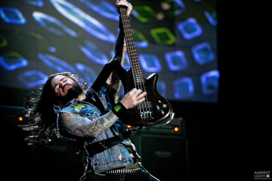 "Rob ""Blasko"" Nicholson performing live in Wellington, 2008. Shot by New Zealand concert photographer Doug Peters."